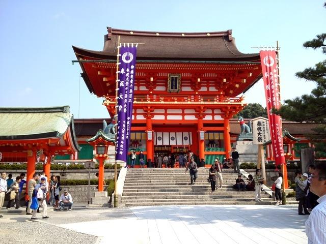 伏見稲荷 楼門.JPG